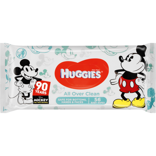 Huggies All Over Clean Special Edition Baby Wipes 56 Pack