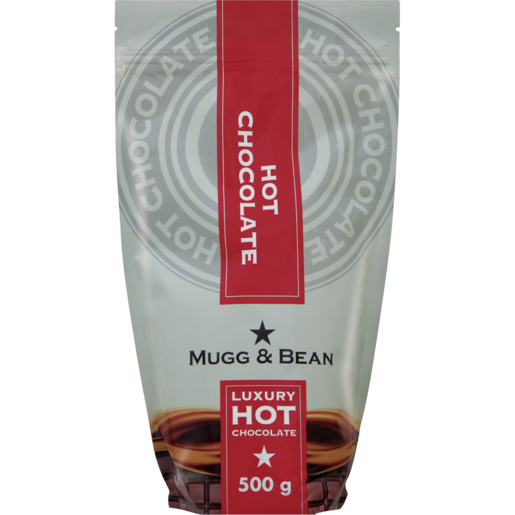 Mugg & Bean Luxury Hot Chocolate Beverage Pouch 500g