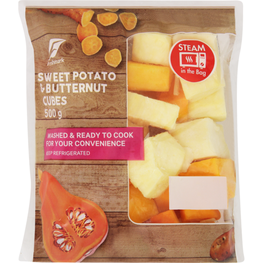 Sweet Potato & Butternut Cubes 500g