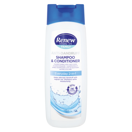Renew Anti-Dandruff Everyday 2-In-1 Shampoo & Conditioner 400ml