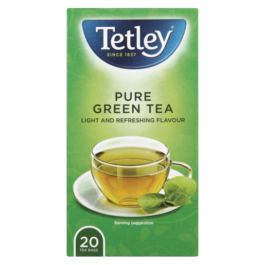 Tetley Green Teabags 20 Pack