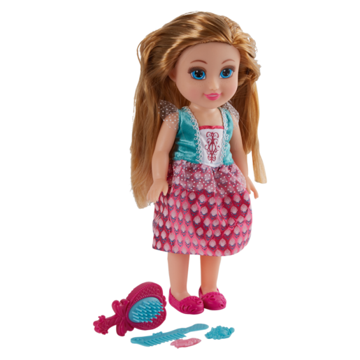 Funville Sparkle Girls Talking Hair Play Princess 33cm