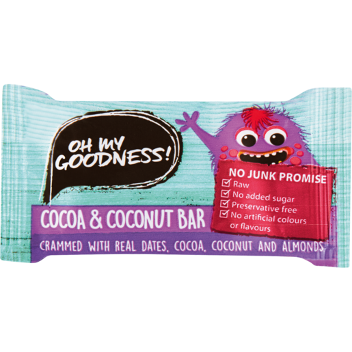 Oh My Goodness! Cocoa & Coconut Snack Bar 20g