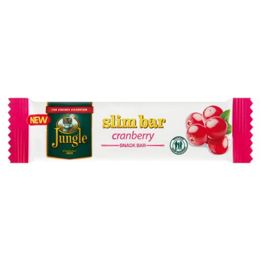 Jungle Cranberry Slim Bar 20g