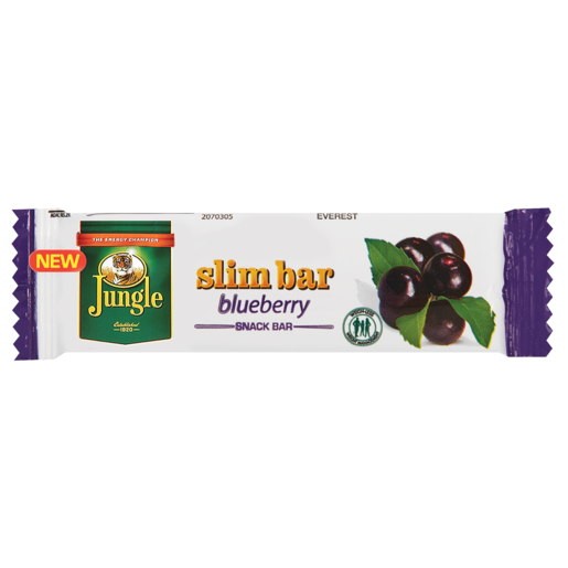 Jungle Blueberry Slim Bar 20g