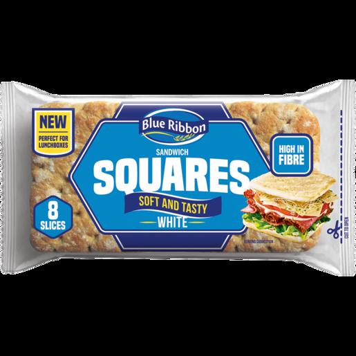 Blue Ribbon White Sandwich Squares 220g White Bread