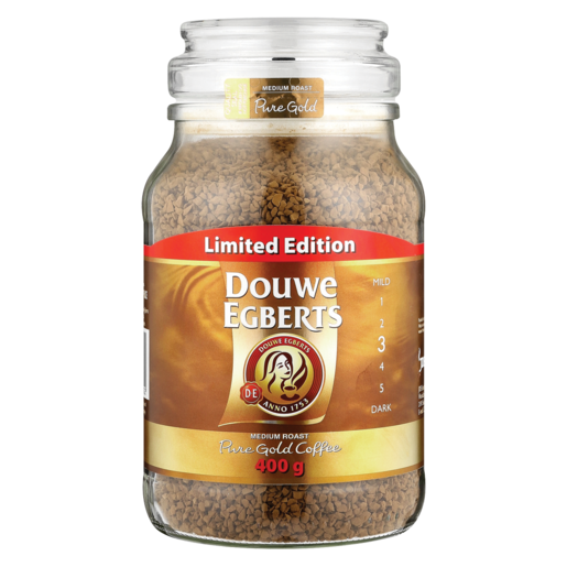 Douwe Egberts Limited Edition Medium Roast Instant Coffee 400g Instant Coffee Coffee Drinks Checkers Za