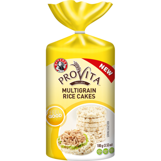 Bakers Provita Multigrain Rice Cakes 100g