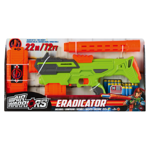 Air Warrior Eradicator Dart Gun