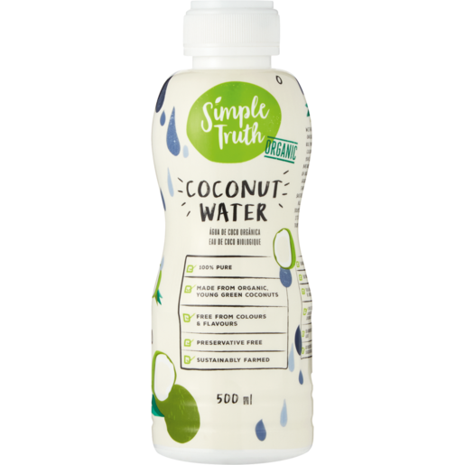 Simple Truth Coconut Water 500ml