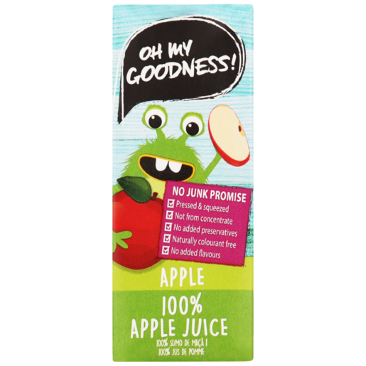 Oh My Goodness! 100% Apple Juice 200ml