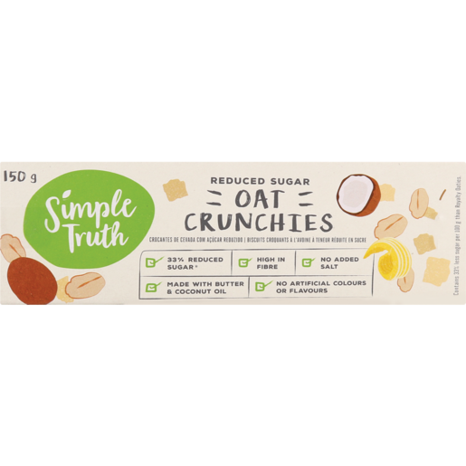 Simple Truth Oat Crunchies 150g