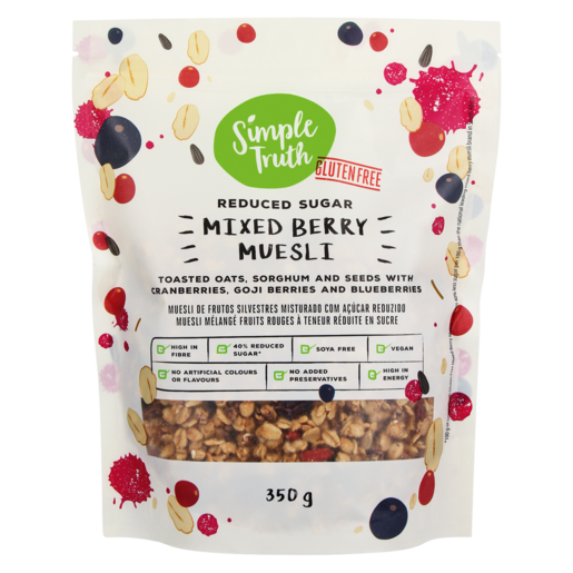 Simple Truth Mixed Berry Muesli 350g
