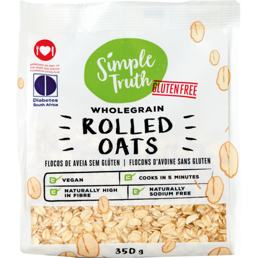 Simple Truth Wholegrain Rolled Oats 350g