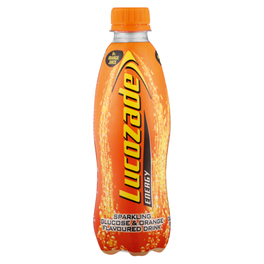 Lucozade Orange Flavoured Energy Drink Bottle 360ml
