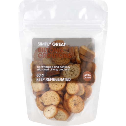 Simply Great Biltong Croutons 60g