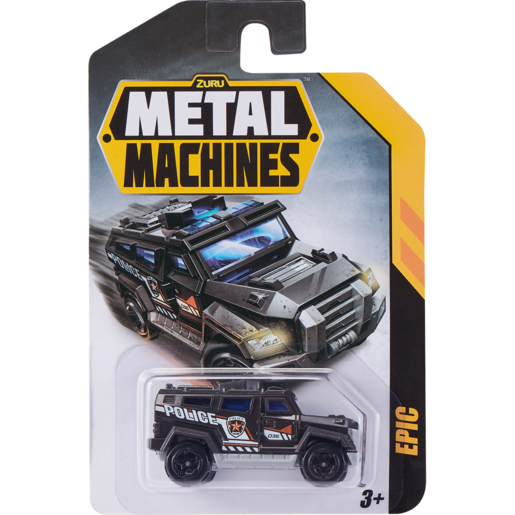 Metal Machines Car Assorted (Single)