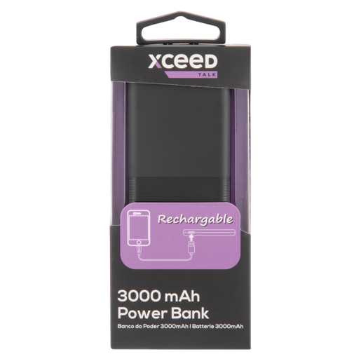 Xceed Talk Power Bank 3000mAh