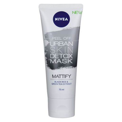 Nivea Peel Off Urban Skin Detox Mattify Face Mask 75ml
