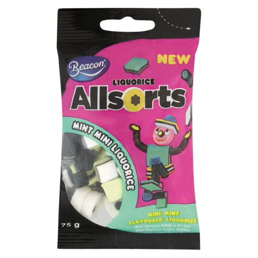 Beacon Allsorts Mini Mint Liquorice 75g